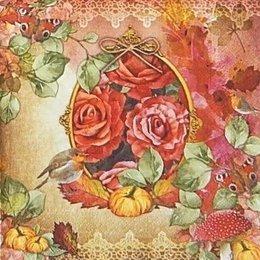 20050. Розы в саду. 10 шт., 22 руб/шт