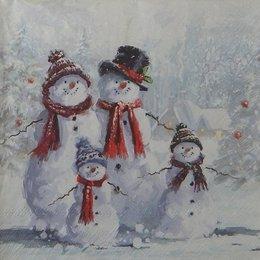 20102. Снеговики. 5 шт., 22 руб/шт
