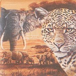 20145. Животные в Африке. 15 шт., 13 руб/шт