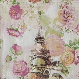 20153. Париж и цветы