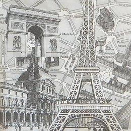 20191. Черно-белый Париж.10 шт., 17 руб/шт