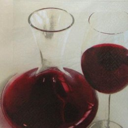 2130. Вино в бокале и кувшине. 10 шт., 7 руб/шт