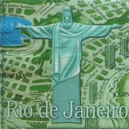 2337. Рио-де-Жанейро. 100 шт., 1,8 руб/шт