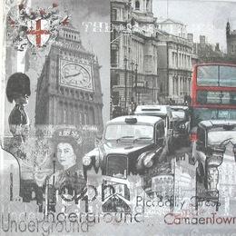 12856. Черно-белый Лондон. 10 шт., 21 руб/шт