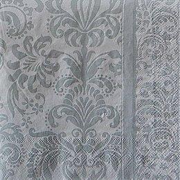 24041. Серебренный узор на белом . 5 шт., 11  руб/шт