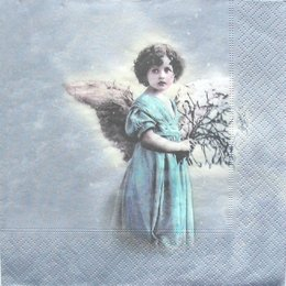 3005. Ангел с цветами