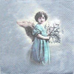 3005. Ангел с цветами. 10 шт., 27 руб/шт