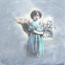3005. Ангел с цветами. 20 шт., 25 руб/шт