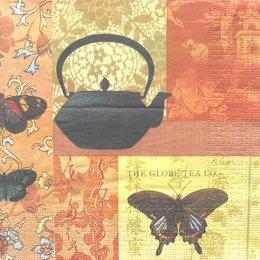 3073. Чайнички и бабочки