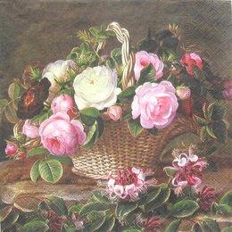 3108. Корзина с розами