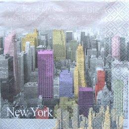 3204. Цветной Нью-Йорк. 5 шт., 20 руб/шт