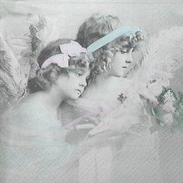3451. Ангелы с букетом. 10 шт., 32 руб/шт