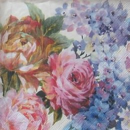 3461. Акварельные цветы