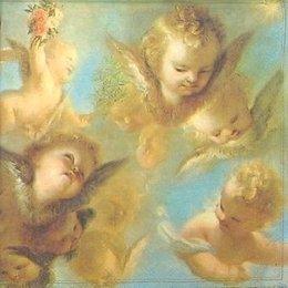 12829. Головы ангелов. 10 шт., 17 руб/шт
