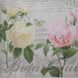 3988. Две розы. 5 шт., 23 руб/шт