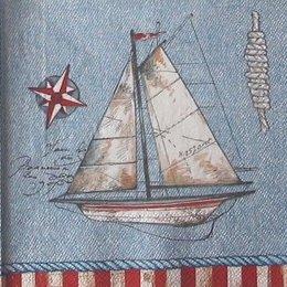 12855. Кораблик и якорь. 20 шт., 12 руб/шт.