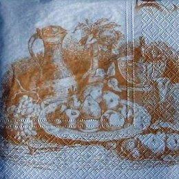 4116. Бежевый натюрморт. 20 шт, 5.5 руб/шт