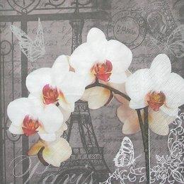 12828. Париж с орхидеями. 10 шт., 15 руб/шт