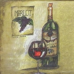 4601. Вино на бежевом. 10 штук., 6 руб/шт