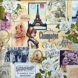 4726. Парижские этикетки