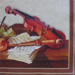 481. Натюрморт со скрипкой. 5 шт., 17 руб/шт