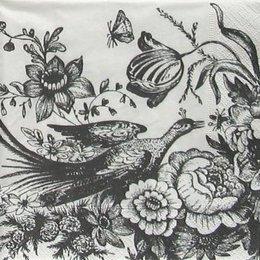 4836. Черно-белая птица. 5 шт., 17 руб/шт