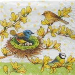 4883. Птички у гнезда. 15 шт., 16 руб/шт