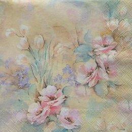4915. Акварельные цветы. 5 шт., 23 руб/шт