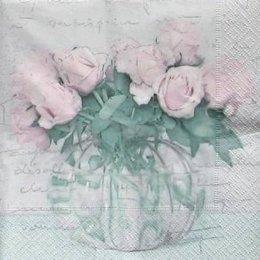 4945. Розы в банке.