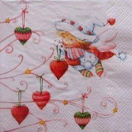 4973. Рождественский ангелок. 5 шт., 26 руб/шт