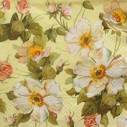4987. Белые цветочки. 5 шт., 17 руб/шт