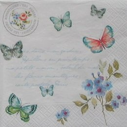 12897. Бабочки на письменах. 10 шт., 18 руб/шт
