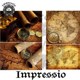 6044. Декупажная карта Impressio, плотность 45 г/м2