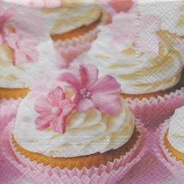8478. Розовые пирожные. 10 шт., 7 руб/шт