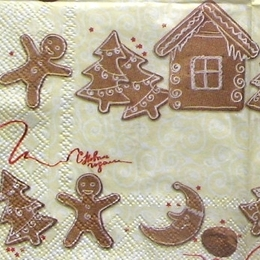 8615. Рождественские пряники. 10 шт., 6.5 руб/шт