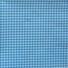 8917. Синяя клетка. Двуслойная. 20 шт., 4.5 руб/шт