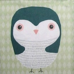 9070. Пингвин на зеленом. 10 шт., 7 руб/шт