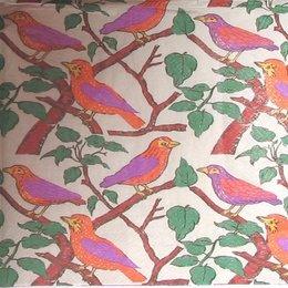 9107. Разноцветные птички на ветках. 10 шт., 9 руб/шт