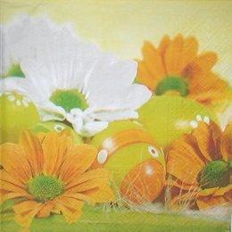 9115. Пасхальные яйца и цветок. 20 шт., 7 руб/шт