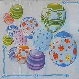 9441. Пасхальные яйца. Двухслойная