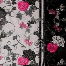 9533. Дикая роза на черном