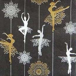 9604. Балерины на черном