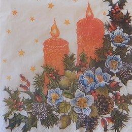 9914. Горящие свечи. 10 шт., 8 руб/шт