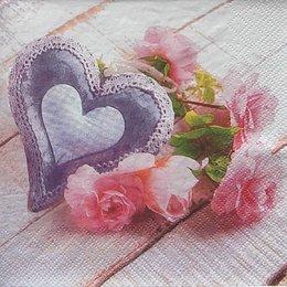 9940. Валентинка с розами. 5 шт., 11 руб/шт