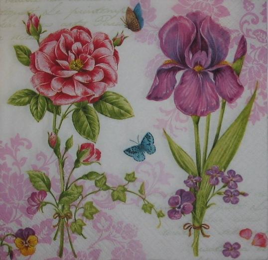 12742.  Два цветка