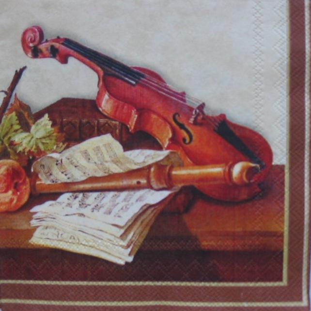 481. Натюрморт со скрипкой