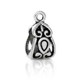 hm-1140. Бейл, цвет серебро. 50 шт. 5 руб/шт.