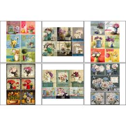 11534. Набор декупажных карт «Домашний сад»