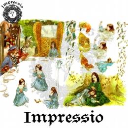 13313. Декупажная карта  Impressio, плотность 45 г/м2