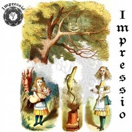 13317. Декупажная карта  Impressio, плотность 45 г/м2